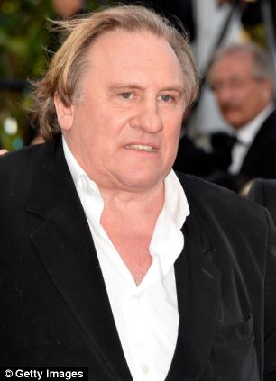 In the film, which featured graphic sex scenes, Gerard Depardieu plays Mr Deveraux a power sex-addict on the road to ruin