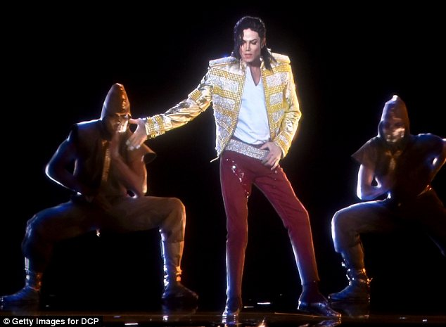 Still rocking the house: A hologram of Michael Jackson performed at the Billboard Music Awards on Sunday