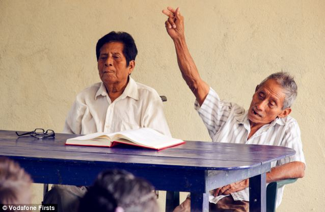 Manuel Segovia and Isidro Velazquez stopped speaking to each other after a disagreement and it was feared that Ayapaneco could die out - now they are teaching the language in their own school