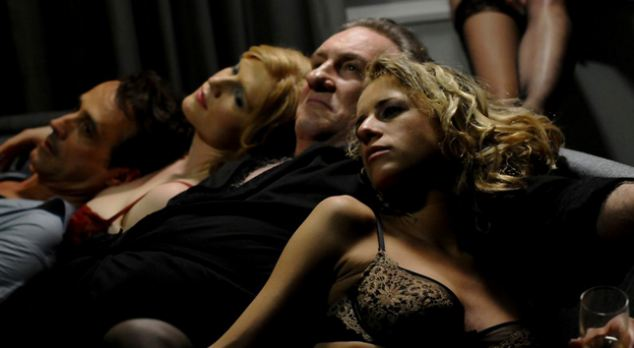 A scene from the film Welcome to New York, which is loosely based on the rise and fall of former French presidential hopeful Dominique Strauss-Khan