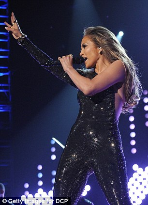 Legacy: Jennifer Lopez was given the Icon Award at the Las Vegas event
