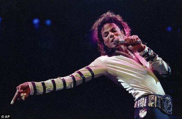 Performance: Jackson is pictured in February 1988 during a performance in Kansas City, Missouri