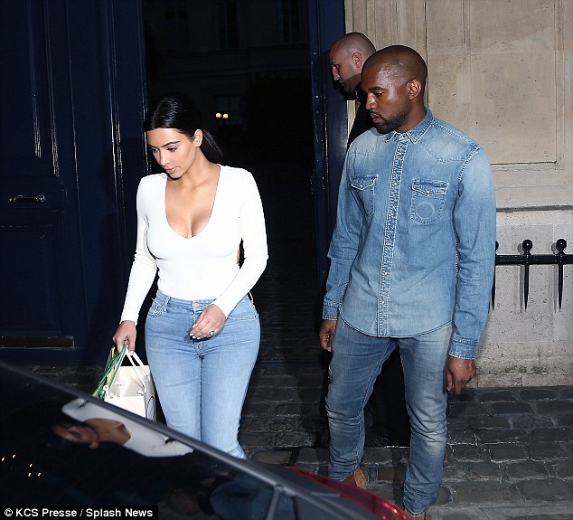 Third time's a charm: Kim Kardashian and Kanye West are already in Paris ahead of their wedding