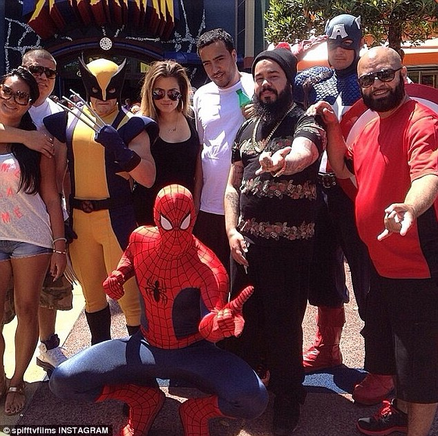 Fun! The 29-year-old reality star spent Saturday at Universal Studios in Orlando, Florida with rumoured boyfriend French Montana