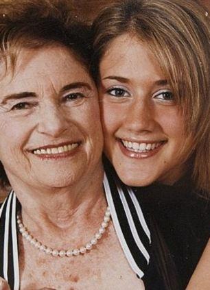 Estranged: Sadly, escort Sheila Vogel is now estranged from her family