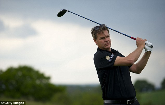 Out of the Dragons' Den: Businessman Peter Jones tees off