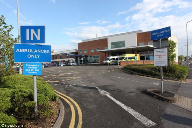 Doctors at Sandwell Hospital, in West Bromwich (pictured) told Mr Greenhill his wife would pass away within minutes of life support being switched off on May 3. But he found out she was still alive three days later