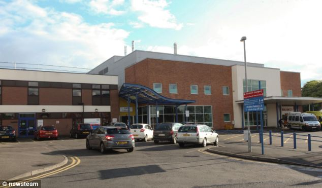 Malcolm Greenhill, 62, thought he had watched his wife Marilyn, 65, die after he made the decision to turn off the machines which were keeping her alive at Sandwell General Hospital in West Bromwich (pictured)
