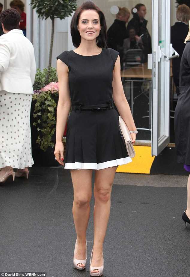Unwritten rule: Stephanie, pictured at Aintree earlier this month, told The Sun: 'I considered her a friend. I had no idea that she would ever do anything like this'