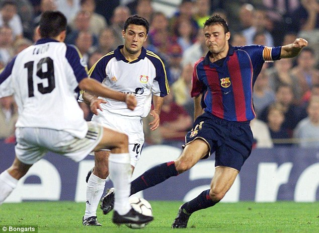 Hero returns: Former Nou Camp favourite Luis Enrique will take charge at Barcelona