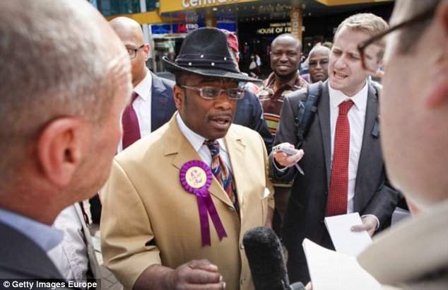 Mr McKenzie said there was no choice but to cancel the event, adding: 'Croydon is unsafe and a dump'