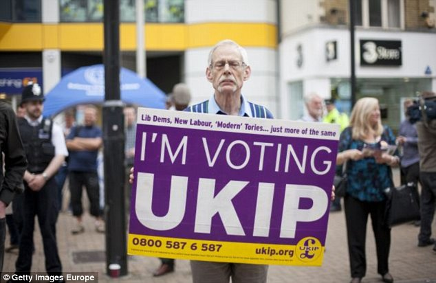 Ukip are expected to top the European Parliament elections on Thursday, which Mr Farage says will trigger a political earthquake