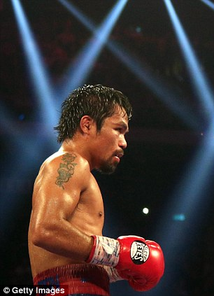On the cards? Manny 'Pacman' Pacquiao could get his shot