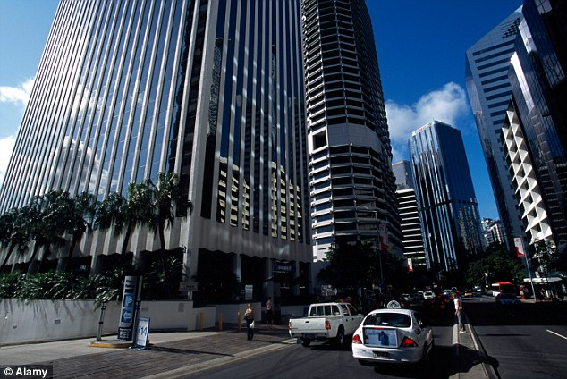 Compromise: The deputy mayor of Brisbane, Australia's largest council, said 'four or five' CBD intersections now boast 24-hour audible signals