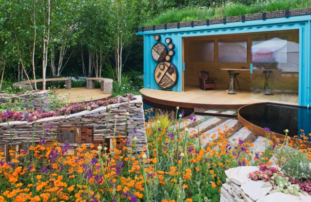 Chelsea Flower Show attracts all sorts of exhibits from the horticultural world