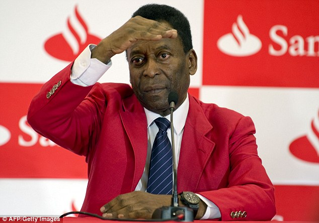 Concerns: Pele has been critical of the preparations in Brazil for the World Cup