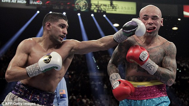 Impressive: Khan was excellent against Luis Collazo but can't fight in September because of Ramadan