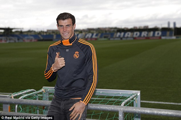 Good feeling: Gareth Bale is expected to play in the final