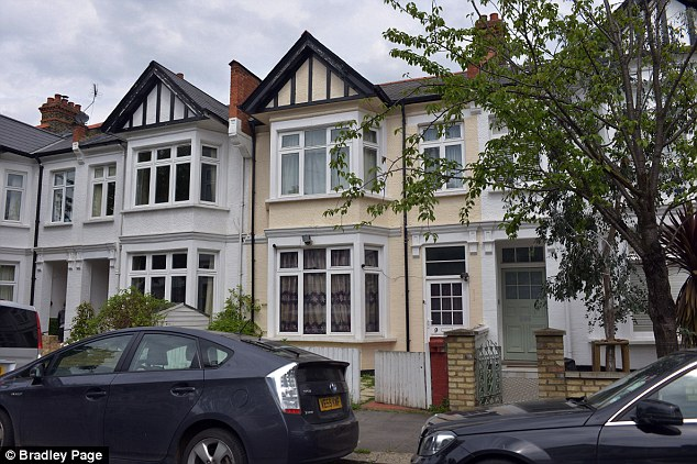 Hamza's second wife Najat Mostafa, 55, with whom he has seven children, lives in a £1.25-million five-bedroom council house in Shepherd's Bush