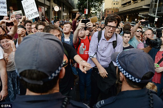 Students are protesting the deregulation of university fees, which they argue could make popular courses at the best universities available to the rich, rather than to the deserving
