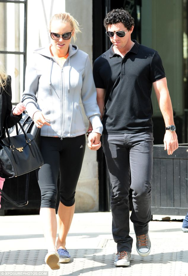 Together: The pair looked deep in thought as they strolled through Sloane Square in London last Thursday