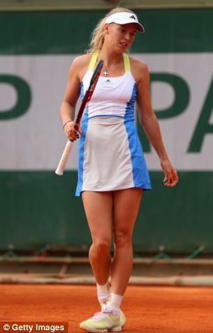 Tennis star Caroline Wozniacki, 23, is worth an estimated £15m