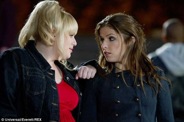 Popular: Rebel Wilson and Anna Kendrick will reprise their respective characters as Patricia and Beca