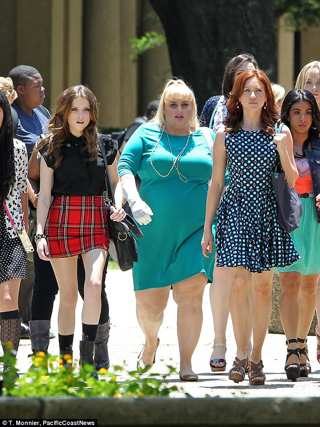 The return of Fat Amy: Fans are excited to see Rebel and Anna reprise their popular characters once again