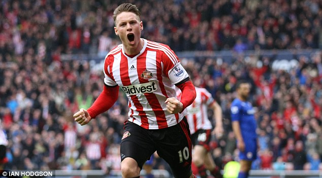 Forward thinking: Connor Wickham was vital to Sunderland's survival last season