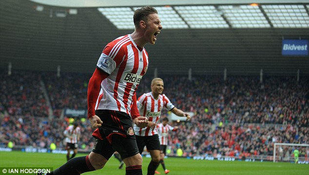 Ambition: Wickham has his sights set on a place in the England squad in the near future