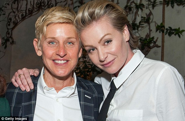 The text of the email, which was obtained by philly.com, didn't specifically mention the star's sexual orientation but called her a 'poor role model'. DeGeneres came out as gay in 1997 and married actress Portia de Rossi in 2008