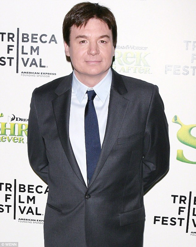 Backed: Mike Myers has said he supported Kanye West's infamous 2005 Hurricane Katrina telethon rant despite appearing shocked at the time