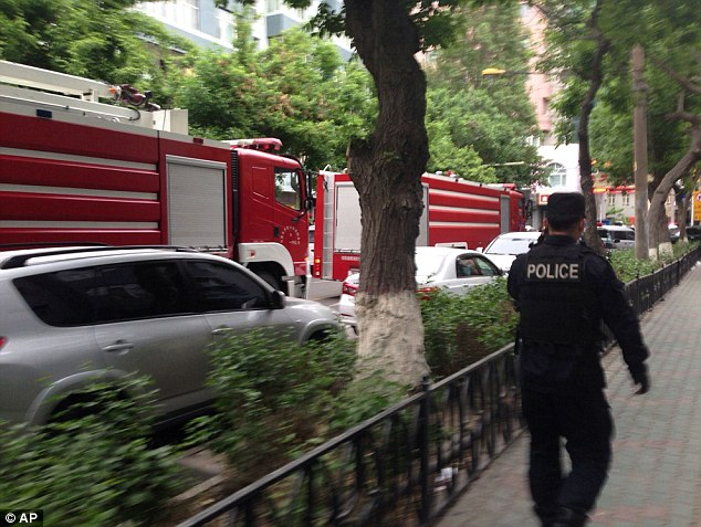 Witnesses reported up to a dozen blasts occurred in the Chinese city of Urumqi this morning