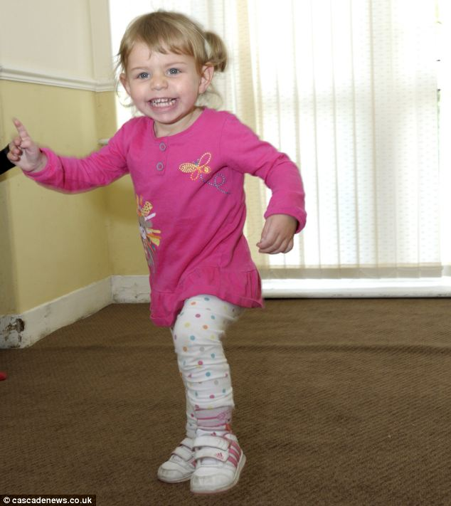 Amelia was taken to Royal Bolton Hospital in Greater Manchester where she was placed in the high dependency unit and constantly monitored until she was declared well enough to return home on Monday