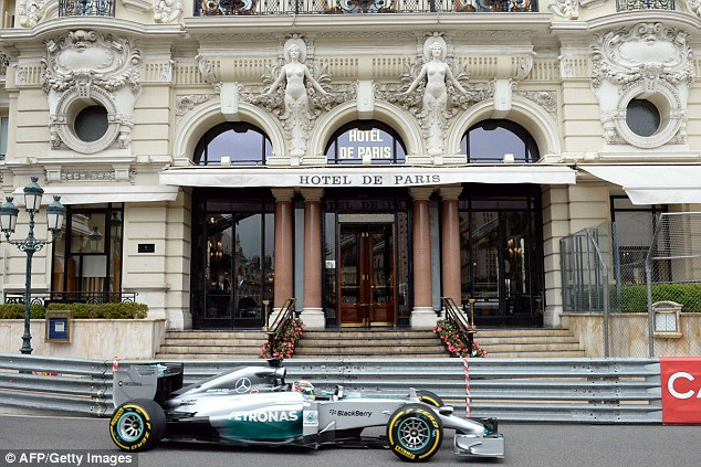 In form: Mercedes man Hamilton has won the last four races, and leads Rosberg by three points