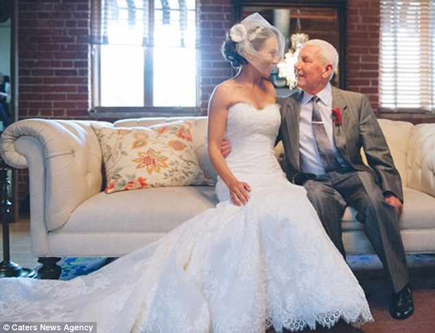 Happiness: 'Seeing my daughter get married and being able to walk her down the aisle was one of the best moments of my life, I'll never forget it,' he said