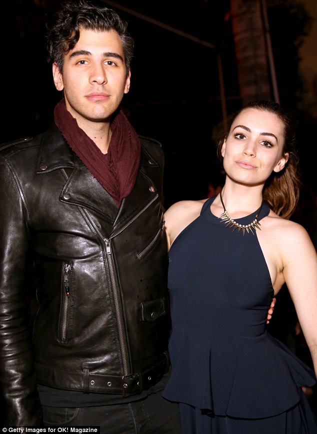 No sibling rivalry here: Nick and Sophie Simmons enjoyed a family night out at the famous Hollywood hotspot