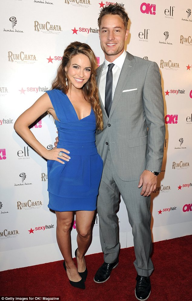 Date night: Days Of Our Lives actress Chrishell Stause and Revenge's Justin Hartley, who first confirmed their relationship in January, were both in attendance