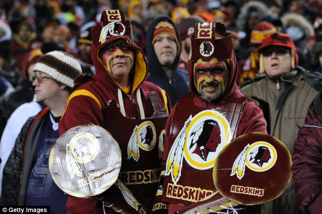 FANS LOVE IT: The Redskins name has inspired merchandise, a team song, and hundreds of thousands of loyal fans