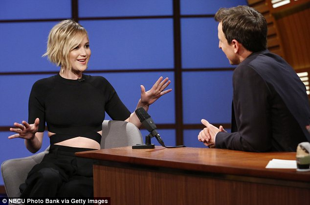 'And then I puked! Although she looked chic and elegant at the Oscars, Jennifer admitted she was a drunken mess