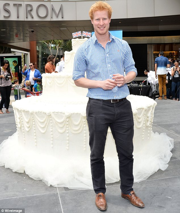 Reality TV royalty: I Wanna Marry Harry star Matthew Hicks attended the Wedding Cake Ring Dive in Santa Monica on Thursday