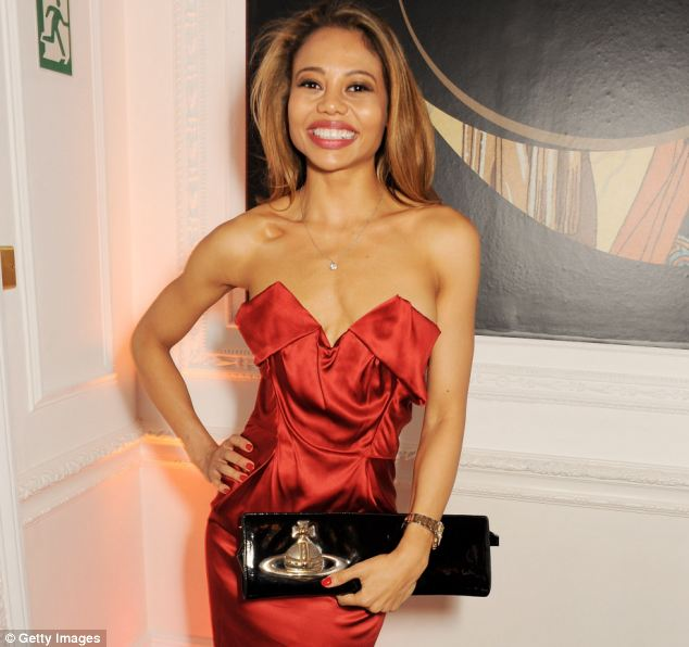 Viscountess: Lady Emma (pictured last year) gained her title in June 2013, when as plain Emma, the daughter of a Nigerian oil tycoon, and an aspiring TV chef and food-blogger, she married 40-year-old Ceawlin Thynn