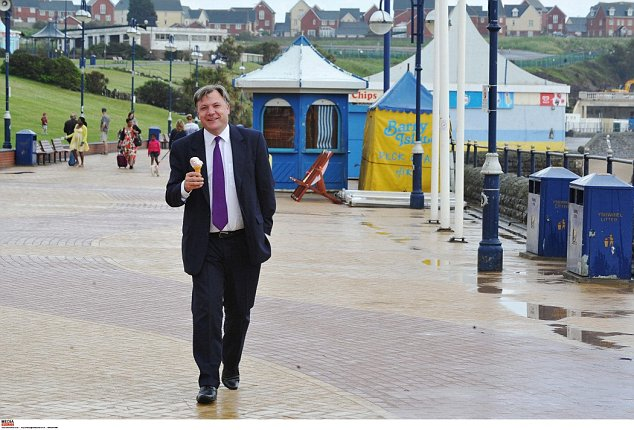 Shsadow Chancellor Ed Balls, on the campaign trail in the Vale of Glamorgan this week, admitted Labour's performance in the council elections had not been good enough