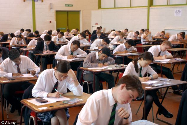 Guidance issued yesterday warns that this year's pupils will 'generally do less well' as a result of the change