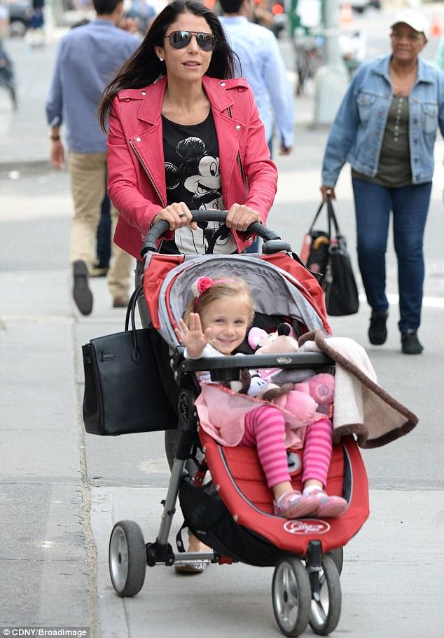 She's mine: Bethenny Frankel has vowed to fight estranged husband Jason Hoppy for full custody of their four-year-old daughter, Brynn