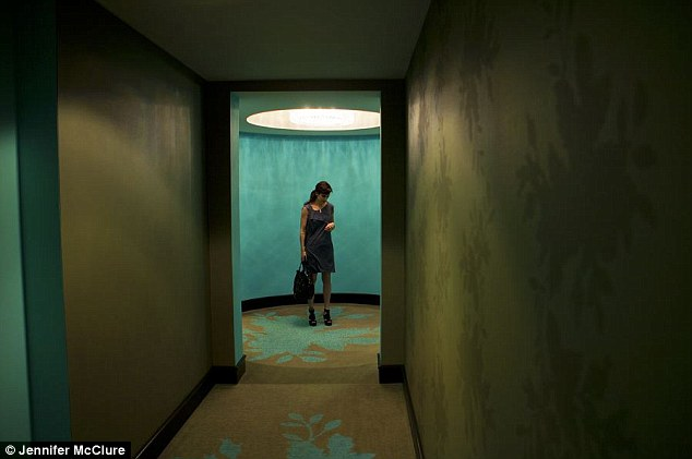 Hallways: Framed by her own isolation, Ms McClure pontificates on the comings and goings of the men in her life, unsatisfied by all of them