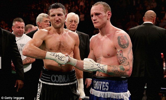 Previous: Froch won with a controversial stoppage in first fight with Groves