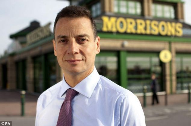 Morrisons chief executive officer Dalton Philips said he subjected food to a 'smell test' rather than relying on the date contained on the packaging