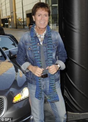 Doing the double: Cliff braves the double denim look