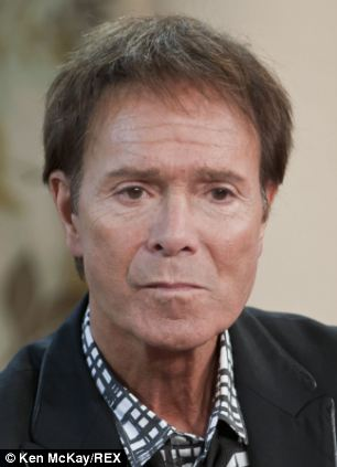 Close crop: Nowadays Sir Cliff favours a short back and sides looks